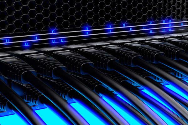instalación y mantenimiento de redes, cableado ethernet, wifi, armarios rack, routers